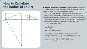 how to rout a large arc
