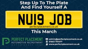 it s newplate month but this doesn t have to be the only nu19 thing this month our team of automotive recruitment consultants are on hand to fin