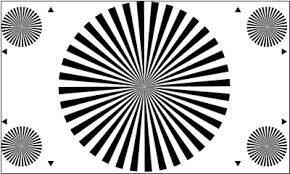 Lens Focus Chart Download Te148 A Lens Focus Test Chart 36 Sectors 16 9