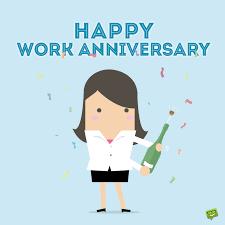 Wish each employee a happy work anniversary with employee anniversary cards. Happy Work Anniversary 101 Professional Milestone Wishes