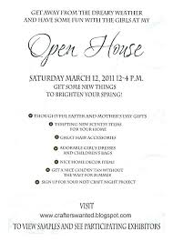 Open House Business Invitations Open House Invites Wording Howtobecomeacardealer Info