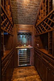 wine room lighting. how to build a wine cellar traditional with brick ceiling sloped ceilings room lighting