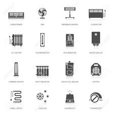 Heat Cool 8523 Heat Cool Icon Stock Illustrations Cliparts And Royalty