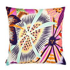 missoni home  cushions  vevey cushion  bright multicolor