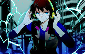 anime guy headphones wallpaper. Delighful Headphones Photo Wallpaper Anime Headphones Art Guy Hamatora To Anime Guy Headphones Wallpaper A