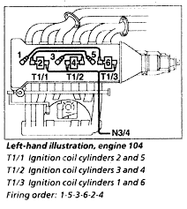 i need the wiring diagram for the spark plug and the coil for full size image