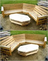 used pallet furniture. Easy To Make Wood Pallet Furniture Ideas | Recycling, Recycling And Pallets Used