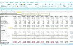 Year Financial Projection Template Creatives And Business Cash Flow