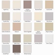 Warm Neutral Pastel Colours