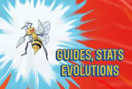 Pokemon Beedrill Evolution Chart Pokemon Lets Go Beedrill Guide Stats Locations