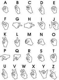 Free Printable Abc Sign Language Chart Sign Language Chart
