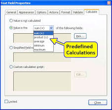 how to code adobe javascript how to code pdf javascript adobe right click the cursor on the text field where the calculation result will be displayed and select properties from the popup menu this action displays the