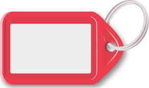 key ring with tag red - /blanks/tags/key_ring_with_tag_red.png.html