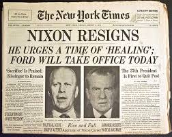 Image result for 1974 Nixon announces release of White House Watergate tapes(HISTORY)