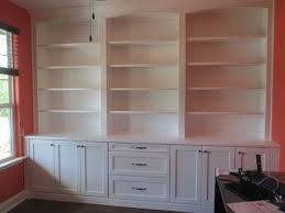 stunning custom built bookshelves on bookcases for home office