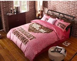 girls pink comforter set winter worm velvet fleece sets leopard print 16