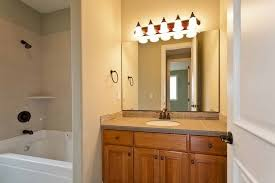 bathroom above mirror lighting. simple lighting bathroomtrack lighting ideas for bathroom mirror with metals above  floating sink cool lights 1
