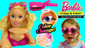 barbie nail face and hair cutting makeup games geek nails proartcat