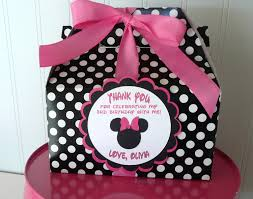 Pink And Black Minnie Mouse Decorations Watch More Like Minnie Mouse Party Favor Ideas