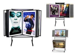 Multiple Poster Display Stands SwingPanels Designing and Distributing Frames Displays and 2