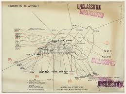 wwii naval gunnery plan of iwo jima   battlemapsus