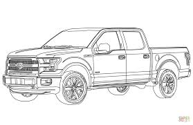 Ford Pickup Truck Coloring Page From