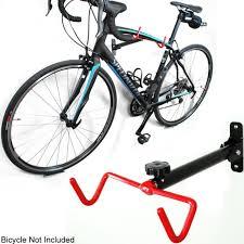 single bike bicycle wall mount folding display rack frame hanger storage hook