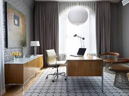 artwork for the office. Office Artwork Ideas Home Contemporary With Brick Wall Task Lamp Chair For The