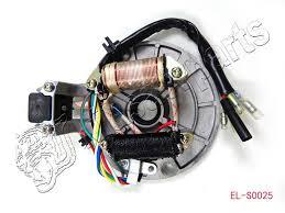 110cc chinese atv parts magneto stator plate 70cc 90cc 110cc 125cc dirt bike atv go kart chinese 2 coil