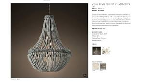 impressive french beaded chandelier french crystal beaded chandelier