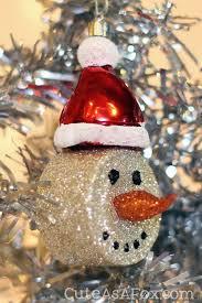 10Snowman Tea Light Ornaments Click to Make It