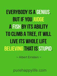 life quote obstacle inspirational quotes quotes more on purehappylife com everybody is a genius but if you