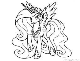 Amazing Alicorn Kleurplaten Hard My Little Pony Princess Arenda Stroy