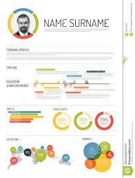 Template Timeline Resume Template Hatchurbanskriptco Infographic