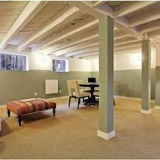 amazing unfinished basement decorating ideas Unfinished Basement