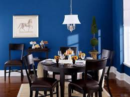 blue dining room color ideas. Picturesque White Shade Lamp Over Espresso Wooden Dining Table Sets As Well Grey Rugs Decorate In Midcentury Blue Room Decorations Color Ideas S