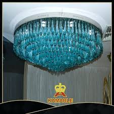 blue murano glass chandelier whole hand blown blue glass style modern chandeliers light blue murano glass