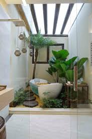 Small Picture I could use a bathroom like this Indoor Garden Designs