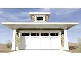 coastal garage doorsTwoCar Garage Plans  Beach or Coastal Style 2Car Garage Plan