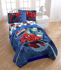 Amazon.com: Marvel Spiderman 'Astonish' Full Reversible Comforter Set: Home  & Kitchen
