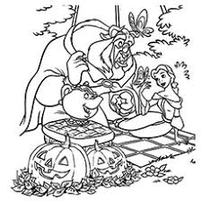Subscribe for more fun new coloring videos everyday. 25 Amazing Disney Halloween Coloring Pages For Your Little Ones