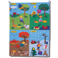 Four Seasons Wall Chart French Ref 115032f Teacher
