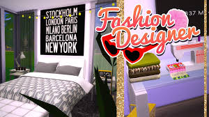 Sims Bedroom Fashion Designer Bedroom The Sims 4 Speed Build Youtube