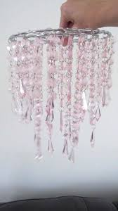 pink beaded chandelier pink beaded chandelier pendant light shade perfect for a girls pink beaded chandelier pink beaded chandelier
