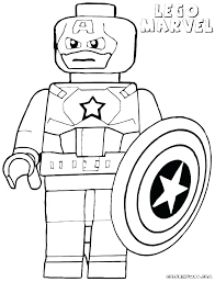 Marvel Colouring Sheets Civil War 2 Coloring Pages Lego Marvel