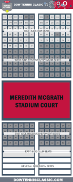 Tickets Dow Tennis Classic