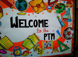 we all teachers struggle to e up with ideas to decorate our bulletin board whenever ptm is approaching here is one idea i present to you all