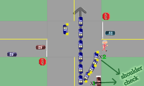Turning Right On A Red Light Alberta Q Right Turns Without Stop Signs Right Of Way Basics