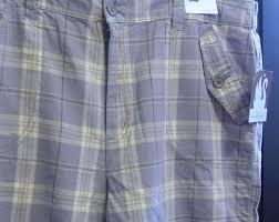 Gloria Vanderbilt Jeans Size Chart Nwt New Gloria Vanderbilt Womens Plaid Shorts Size 16w