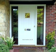 How To Secure Front Door With Sidelights Front Door With Sidelights